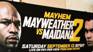 Mayweather Maidana 2