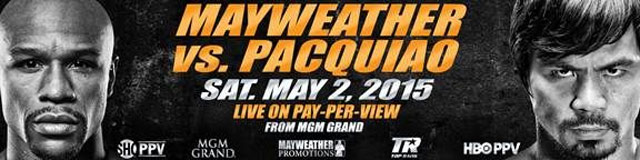 Pacquiao Mayweather fight promo