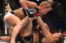 Rousey Holm MMA