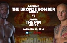 Deontay Wilder vs. Artur Szpilka - January 16 at Barclays Center