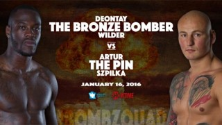 Deontay Wilder vs. Artur Szpilka - January 16 at Barclays Center