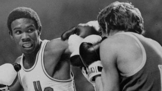 Howard Davis, Jr boxing at the Olympics
