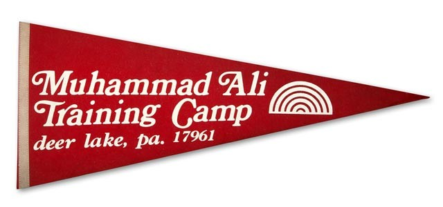 Muhammad Ali Training Camp Banner