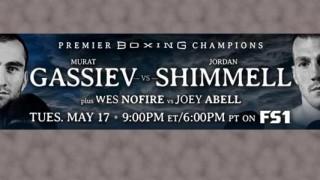Gassiev vs Shimmell PBC banner
