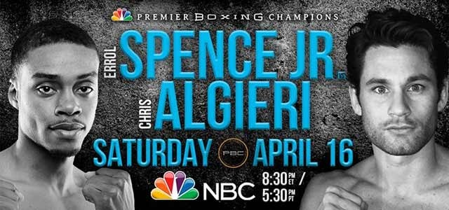 Errol Spence Jr vs. Chris Algieri