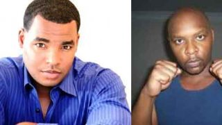 Ray Leonard Jr and Marvin Hagler Jr