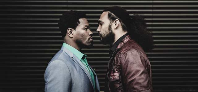 Thurman and Porter pre-fight photo shoot