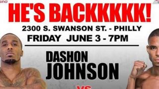 Dashon Johnson vs Decarlo Perez at 2300 Arena