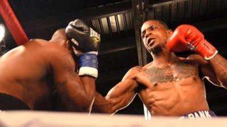 Derrick Webster in action
