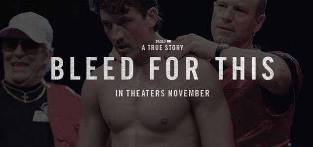 Bleed For This movie coming November 2016