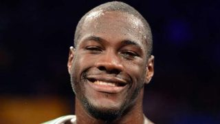Deontay Wilder post fight