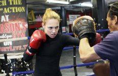 Heather Hardy training