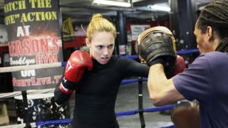 Heather Hardy training