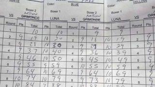 Luna - Nelson Official Scorecard
