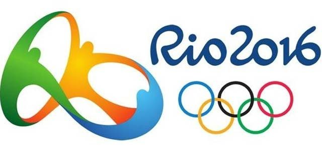 Olympic Rings and Rio 2016 logo