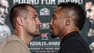 Sergey Kovalev and Andre Ward Press Conference