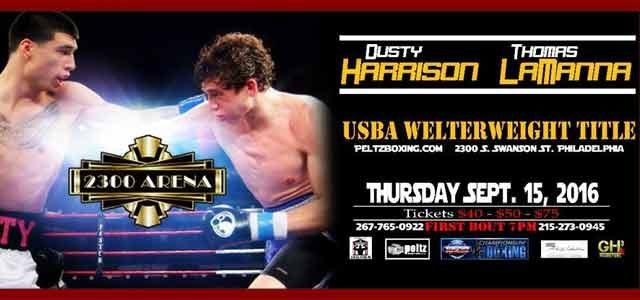 Lamanna vs Harrison at 2300 Arena