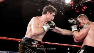 Thomas Lamanna in ring