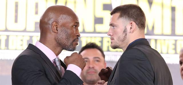 Bernard Hopkins - Joe Smith Jr press conference