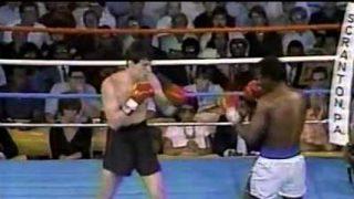 Mark Holmes boxing in Scranton