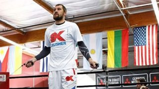 Sergey Kovalev Workout Jumprope