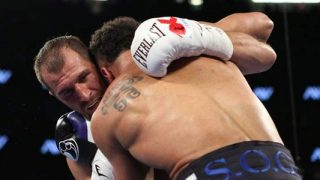 Ward Kovalev Clinch