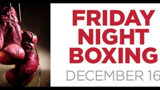 Friday NIght Figths at Sugarhouse Casino Dec 16