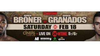 Broner vs. Granados promo banner