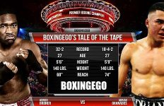Broner-Granados Tale of the Tape