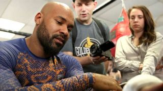Gerald Washington media workout