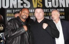 Roy Jones Jr vs Bobby Gunn press conference