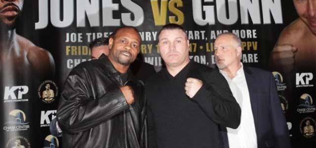 Roy Jones Jr vs Bobby Gunn press conference