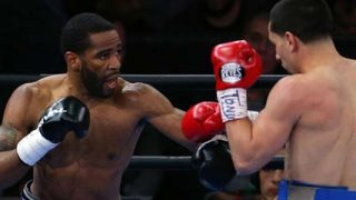 Lamont Peterson in action