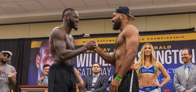 Wilder vs Washington Final Press Conference