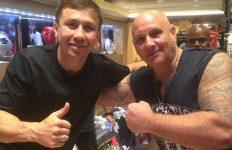 Gennady Golovkin with Gary Todd
