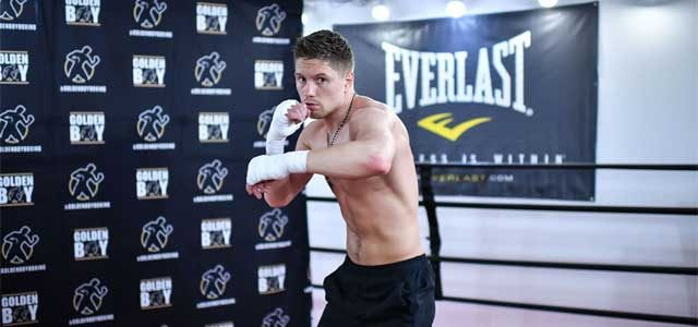 Jason Quigley workout
