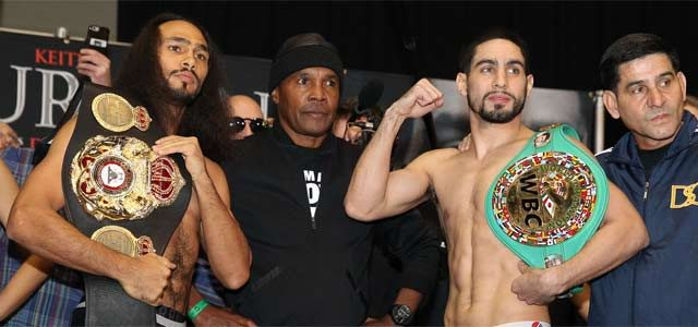 Thurman vs Garcia Weigh-In