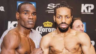 Edner Cherry-Omar Douglas weigh-in