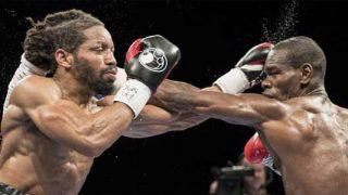Edner Cherry vs Omar Douglas in action