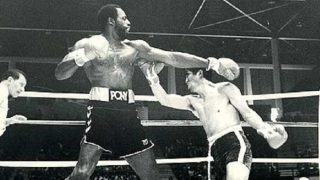 Ed 'Too Tall' Jones boxing