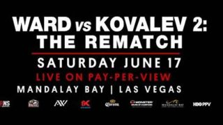 Ward-Kovalev 2: The Rematch Banner