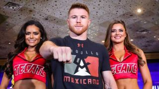 Canelo Alvarez Arrival Press Conference