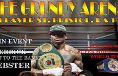 Derrick Webster at Grundy Arena
