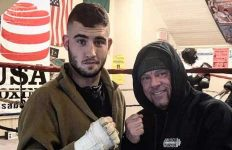 Jimmy Kelleher at Irish Boxing Club in Scranton