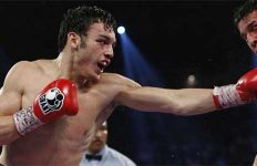 Julio Cesar Chavez Jr in action
