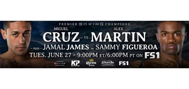 Miguel Cruz vs Alex Martin