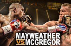 Mayweather-Macgregor composite shot