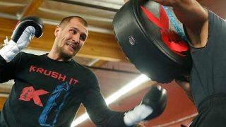 Sergey Krusher Kovalev workout