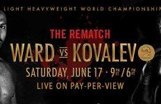 Andre Ward - Sergey Kovalev 2: The Rematch