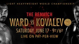 Andre Ward - Sergey Kovalev 2: The Rematch